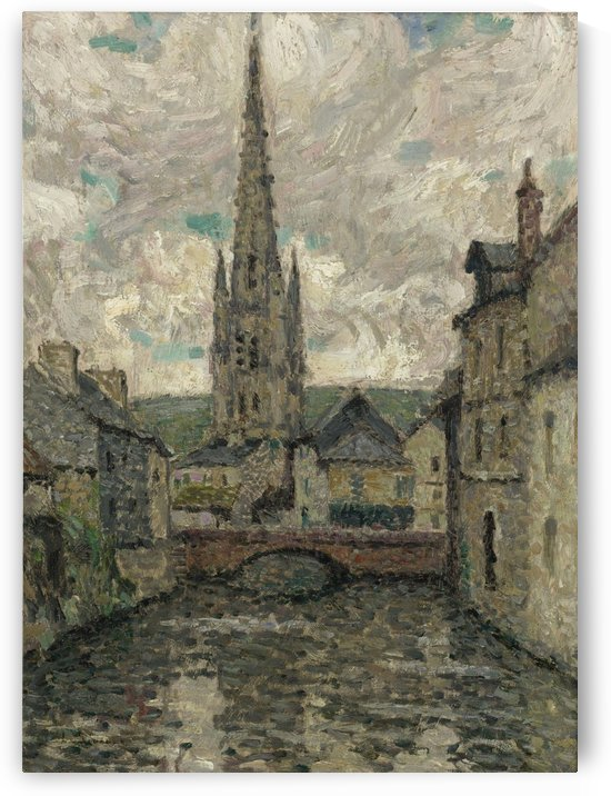 The Church, Honfleur by Henri Le Sidaner
