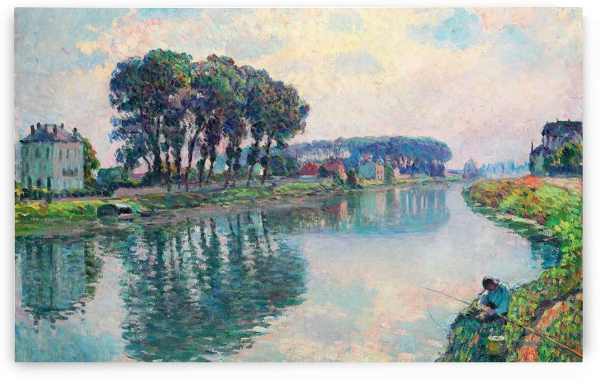 Banks of the Marne by Henri Lebasque
