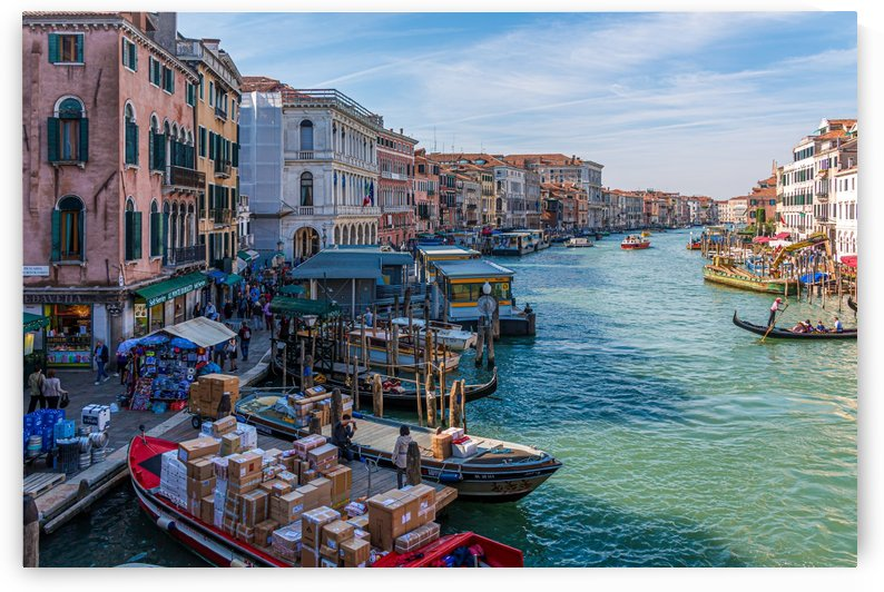 Grand Canal Around the Bend by Darryl Brooks