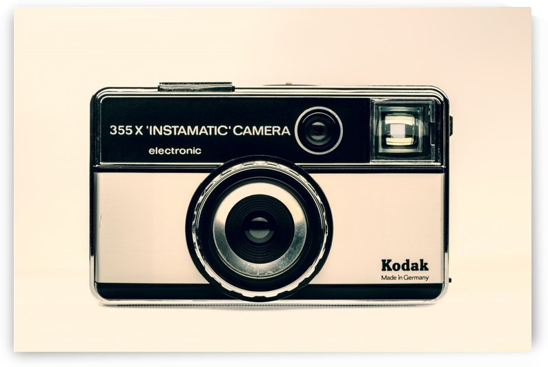 Kodak Instamatic 355X CAMERA - 1963  by Gerald Cummins