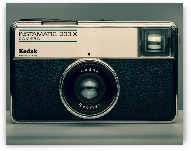 KODAK INSTAMATIC 110 CAMERA - 233-x by Gerald Cummins