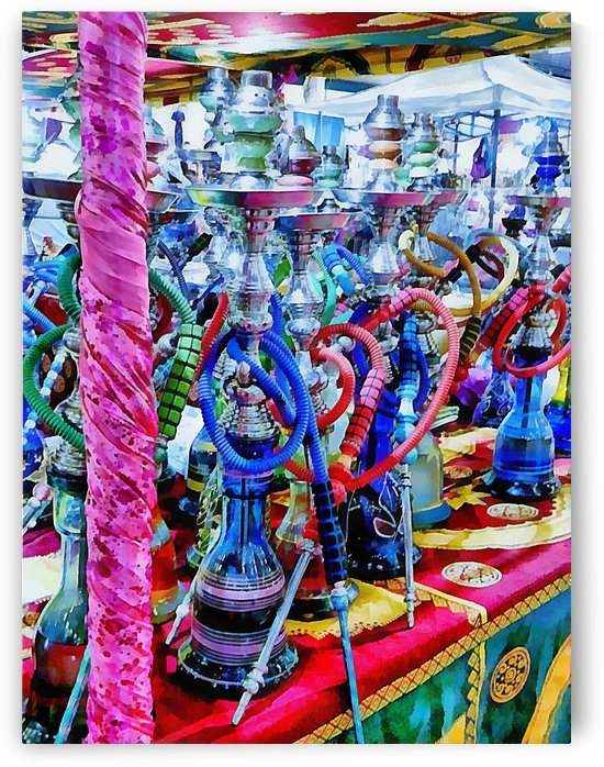 Colorful Hookah Pipes for Sale by Dorothy Berry-Lound