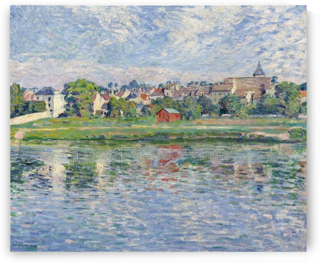 Lagny, the Banks of Marne by Henri Lebasque