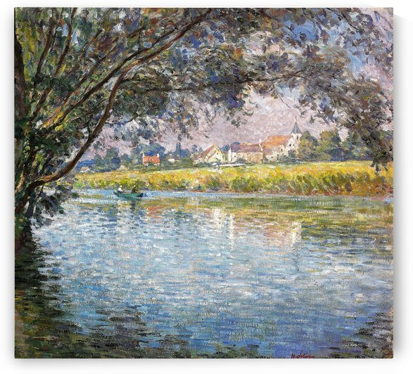 Bank of the River by Henri Lebasque