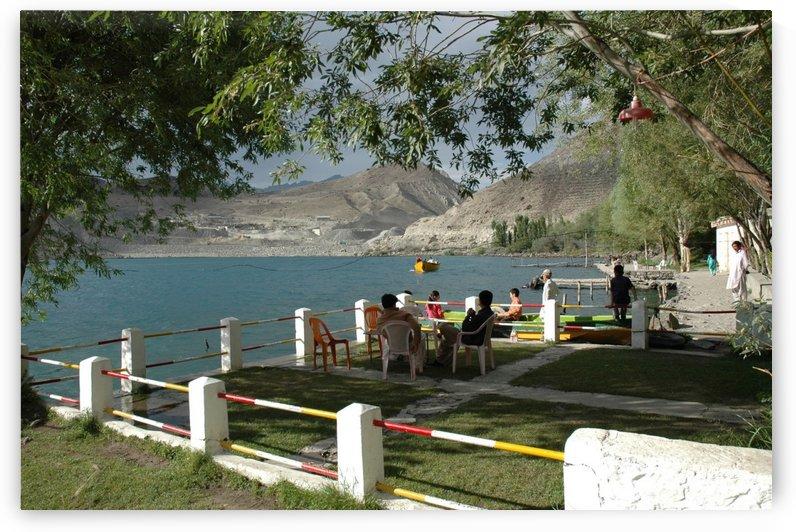 Sadpara lake in 2007 Sakardu valley Pakistan by Hafiz Muhammed Usman