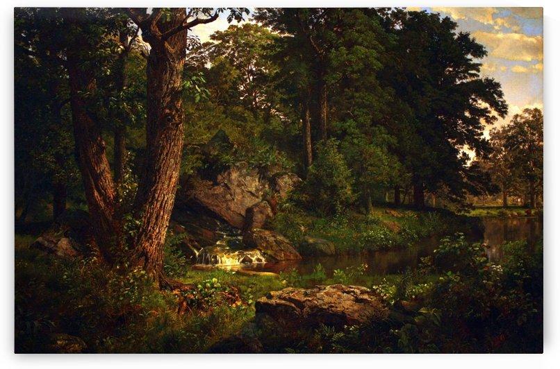 Landscape by Henri Martin