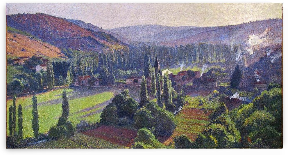 Going Out from the Mess at Labastide-du-Vert by Henri Martin