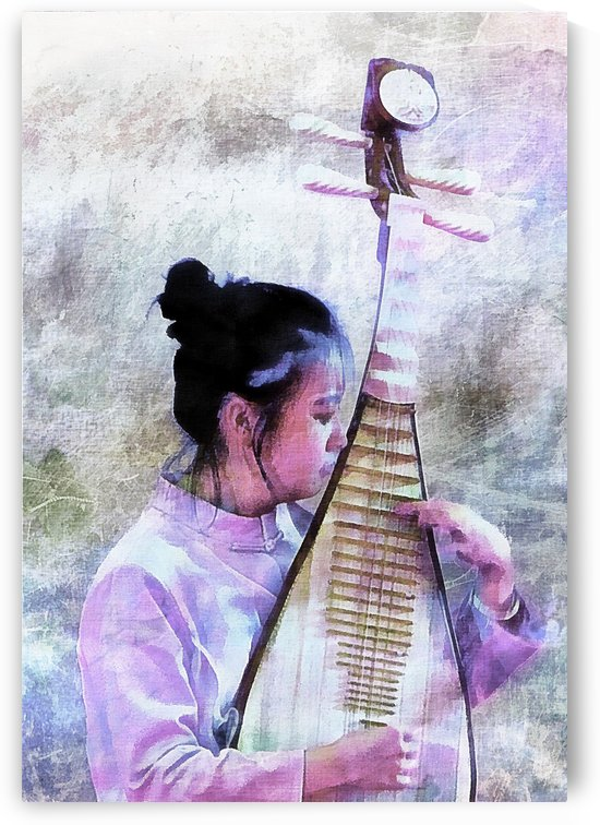 Chinese Musical Interlude by Dorothy Berry-Lound