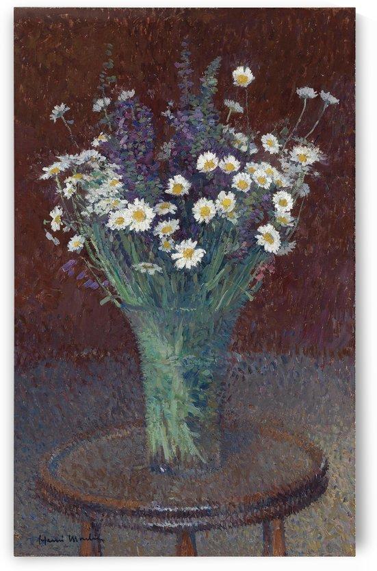 Vase of Delias by Henri Martin