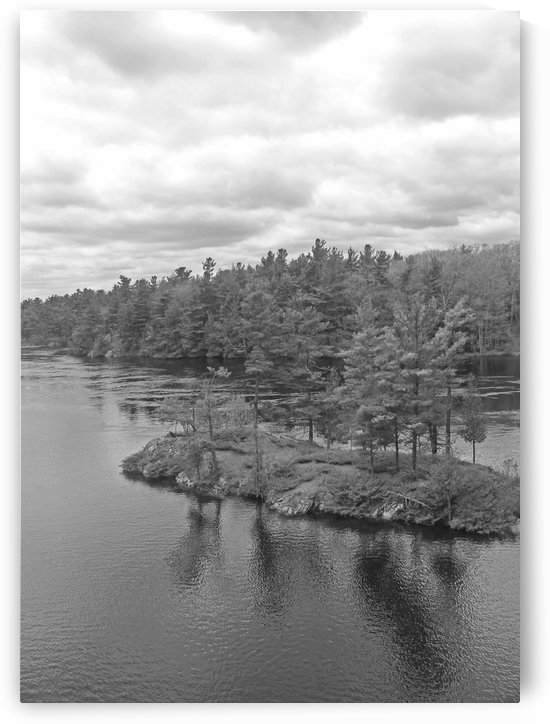 Green Island B&W by Gods Eye Candy