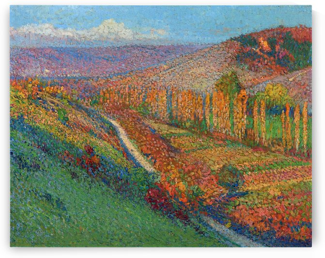 Green Valley at Labastide-du-Vert by Henri Martin