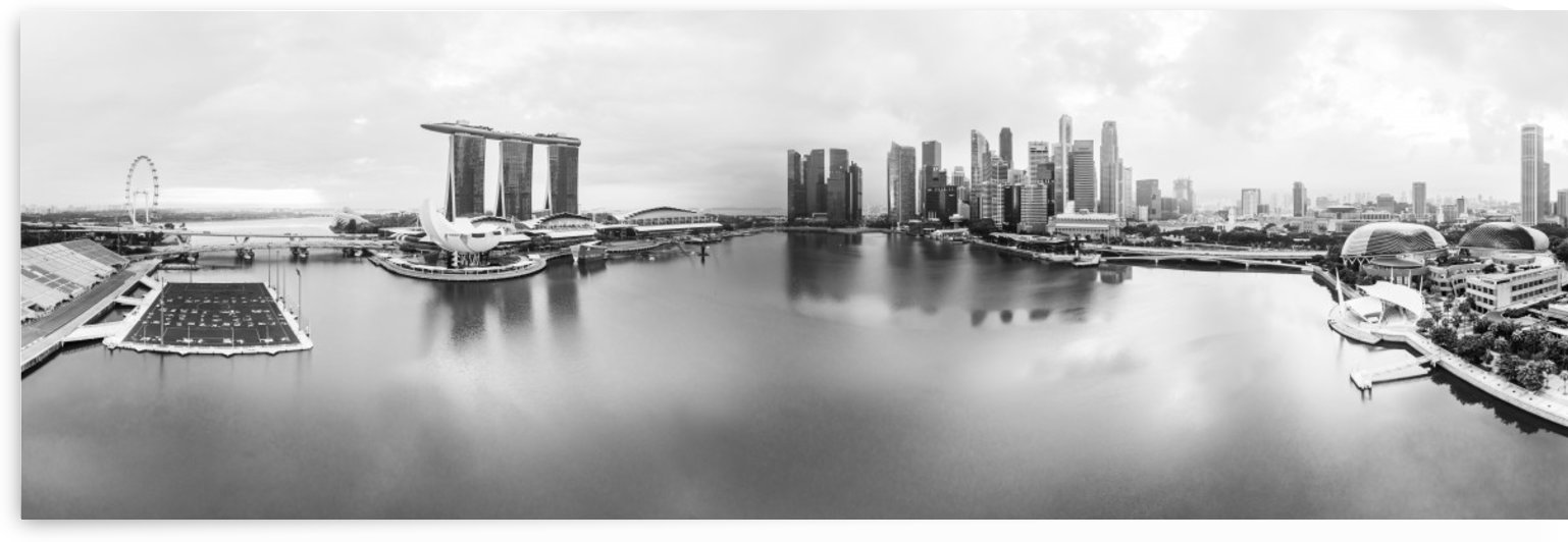 Marina Bay in Singapore by Em Campos