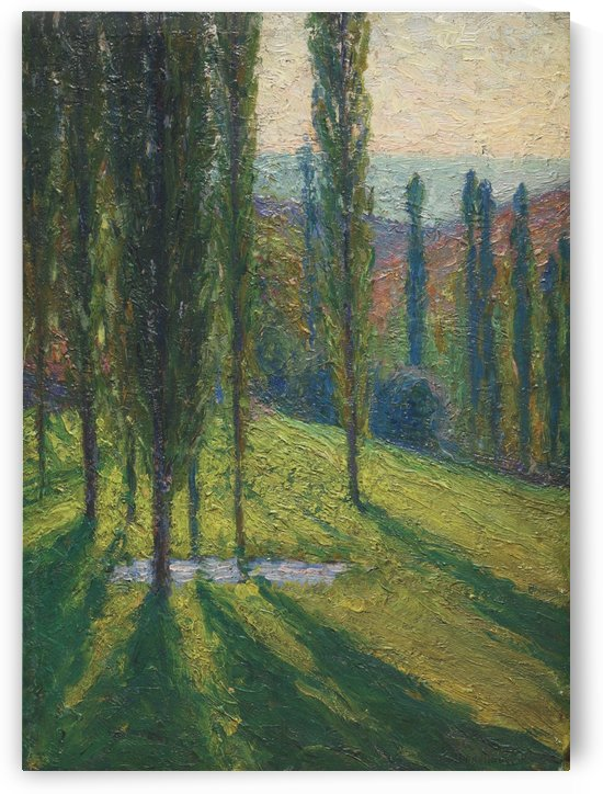 Green in the Lower Reaches of Labastide-du-Vert by Henri Martin