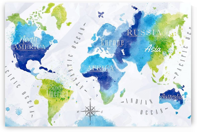 Word map paint by AmilenaCollection
