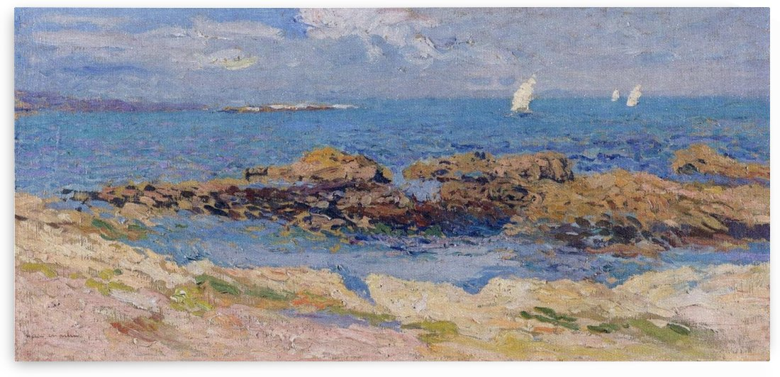 The Outskirts of Saint-Malo by Henri Martin