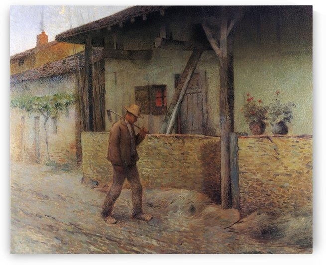 Returning from Fields by Henri Martin