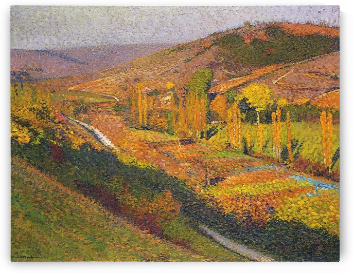 Labastide-du-Vert, Valley of Lot by Henri Martin