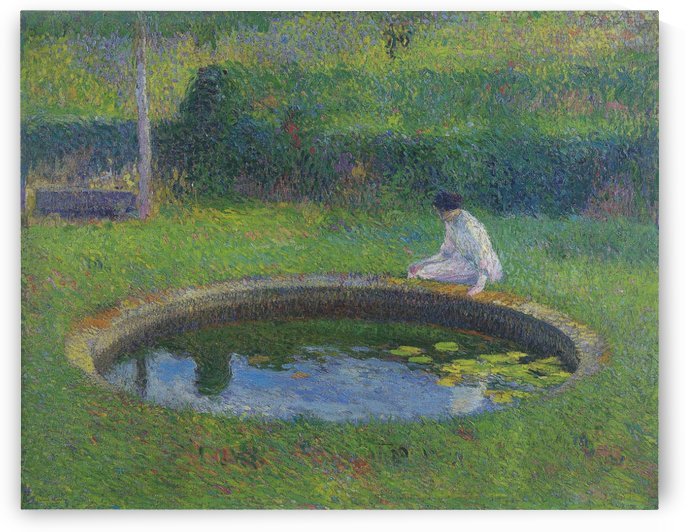 Little Pool in the Interior of Park of Marquayrol to the Southwest... by Henri Martin