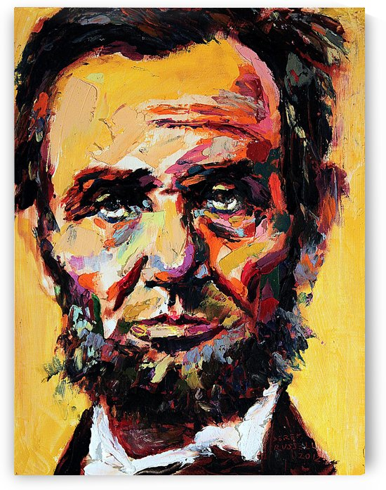Abraham Lincoln by Derek Russell