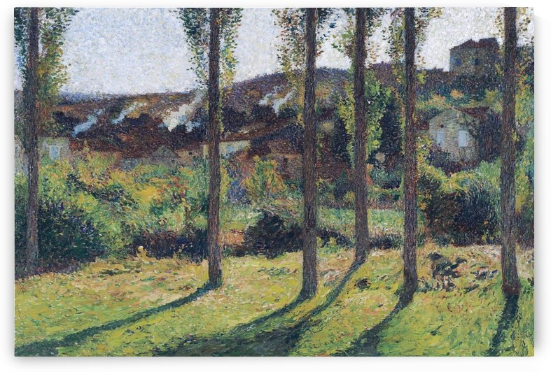 The House of Monsieur Pele Dominant, Labastide-du-Vert by Henri Martin