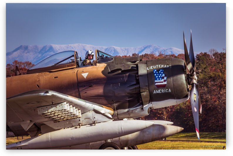 The Men Who Flew Sky Raiders 22 by RBA Photography
