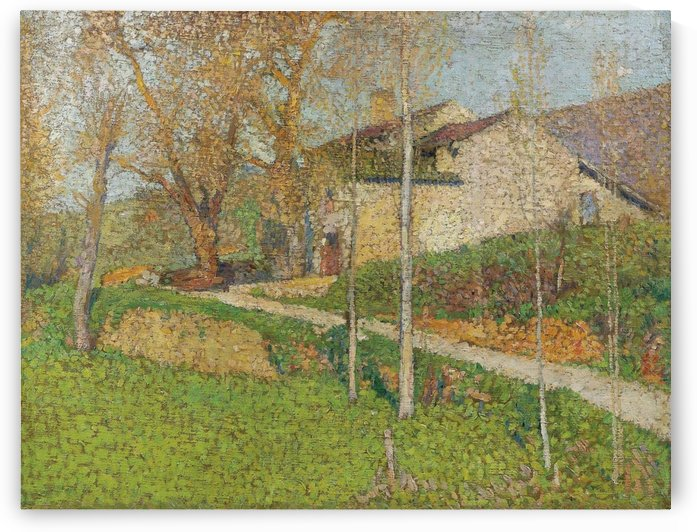 The House of Sabotier by Henri Martin