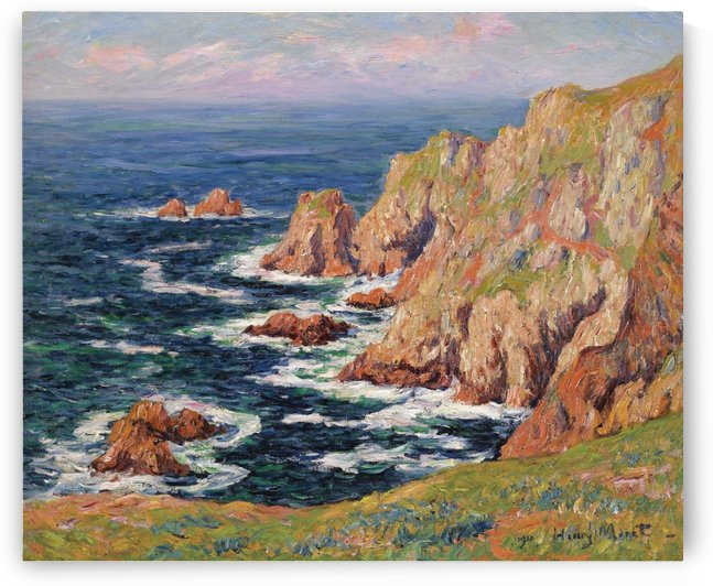 De Cote Sauvage by Henry Moret