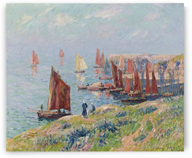 Returning of the Boats by Henry Moret