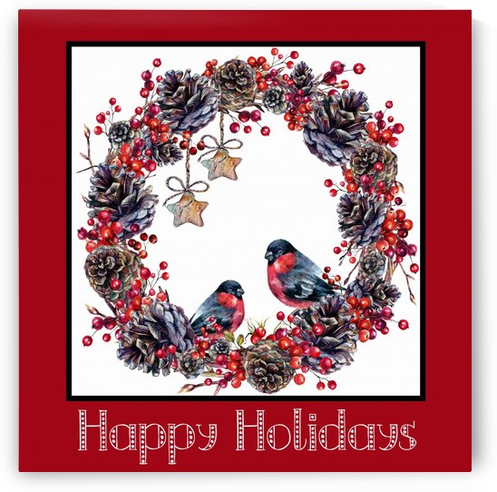 Holiday Wreath by HH Photography of Florida