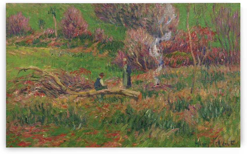Wood-Cutters by Henry Moret