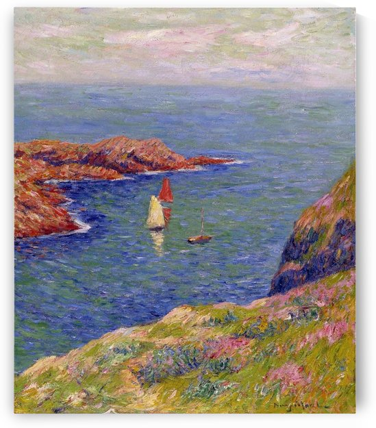 The Isle of Ouessant by Henry Moret