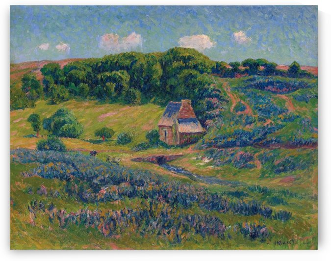 Farm in Bretonne Campagne by Henry Moret