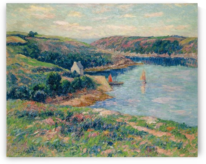 The River of Belon by Henry Moret