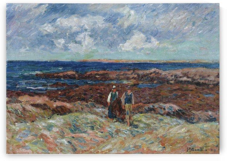 La Pointe de Ber Er Morz by Henry Moret