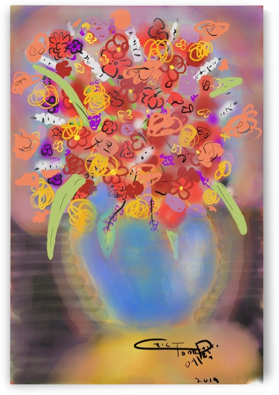 flower vase 10.17.2019 by Eric  Todd Price