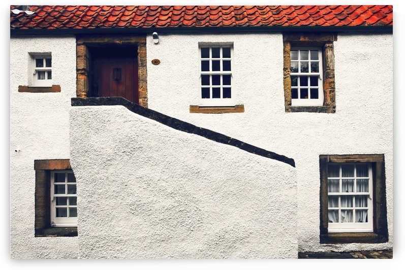 Breath of History. Culross. Scotland by Jenny Rainbow