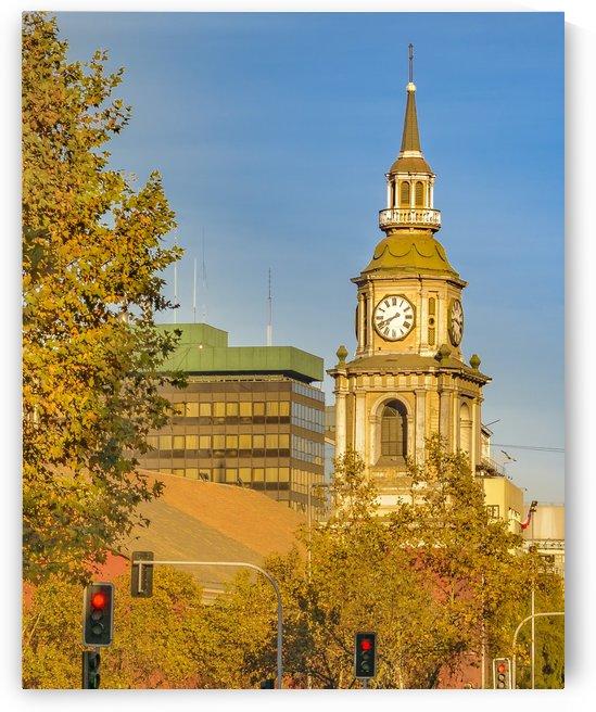 San Francisco de Alameda Church Santiago de Chile by Daniel Ferreia Leites Ciccarino