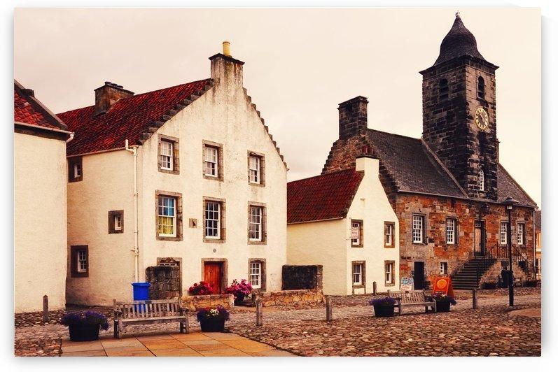 Culross Sketches 3. Scotland by Jenny Rainbow
