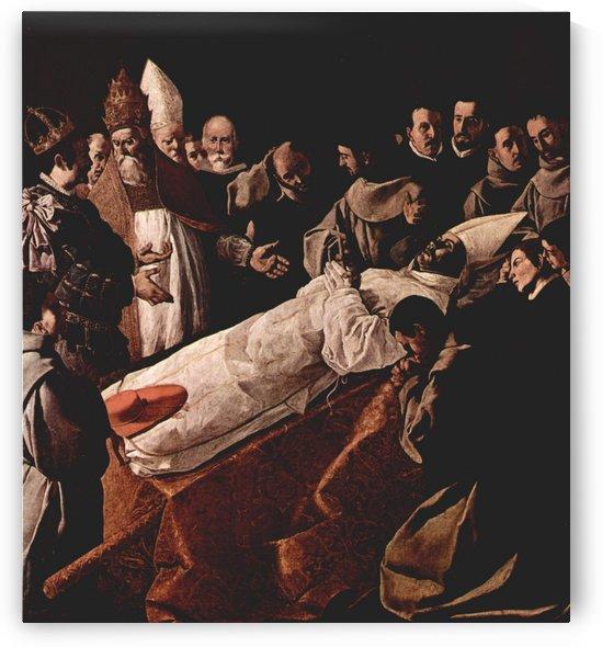 Death of a cardinal by Francisco de Zurbaran