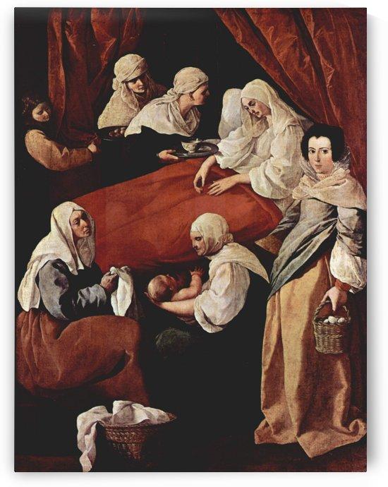 Birth of the Virgin by Francisco de Zurbaran