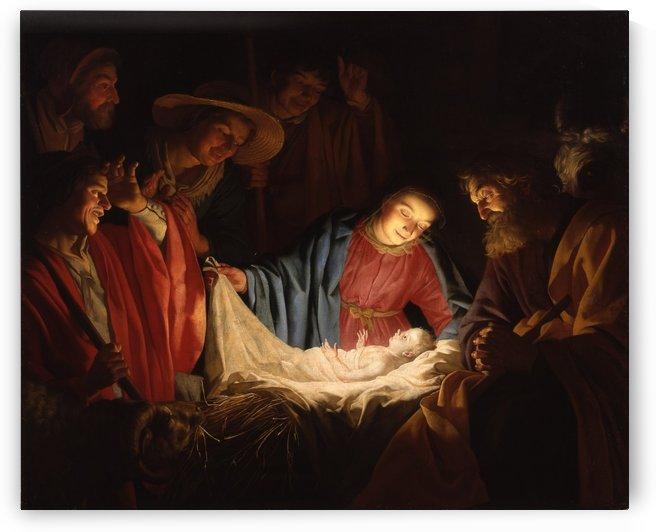 Adoration of the Shepherds by Francisco de Zurbaran