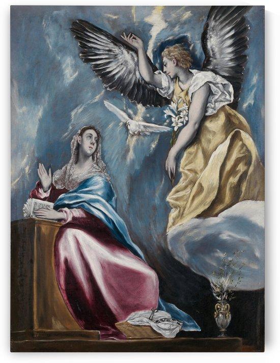 Annunciation by Francisco de Zurbaran