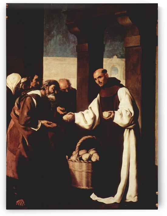 The mercy of Fra Martin de Vizcaya by Francisco de Zurbaran