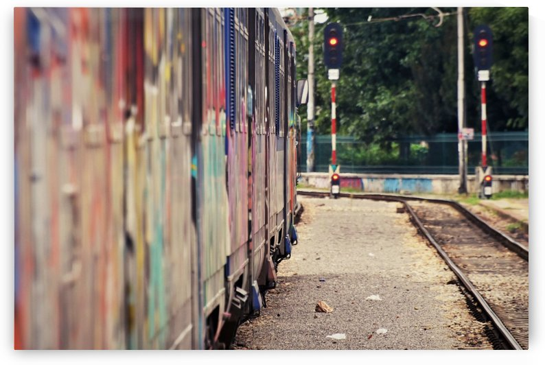 Train to nowhere by Alen Gurovic
