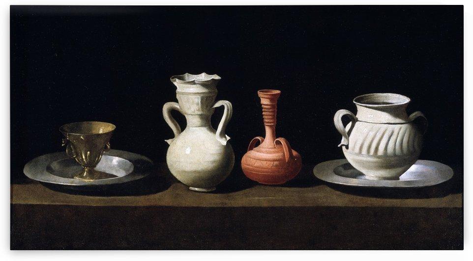Bodegon by Francisco de Zurbaran