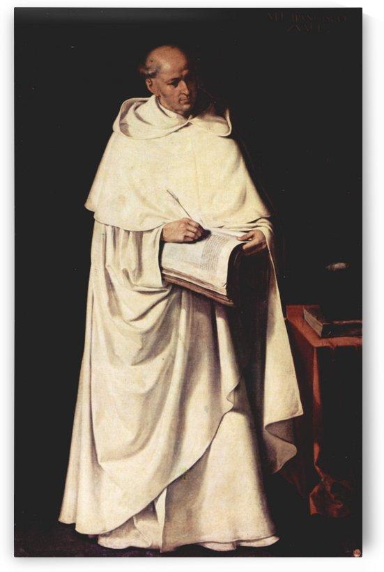 Portrait of Fra Zumel Francisco by Francisco de Zurbaran