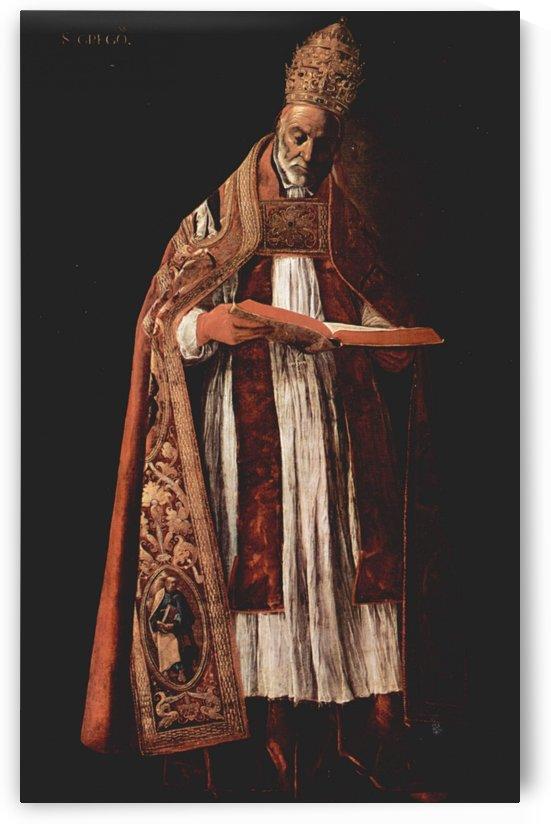 St. Gregory by Francisco de Zurbaran