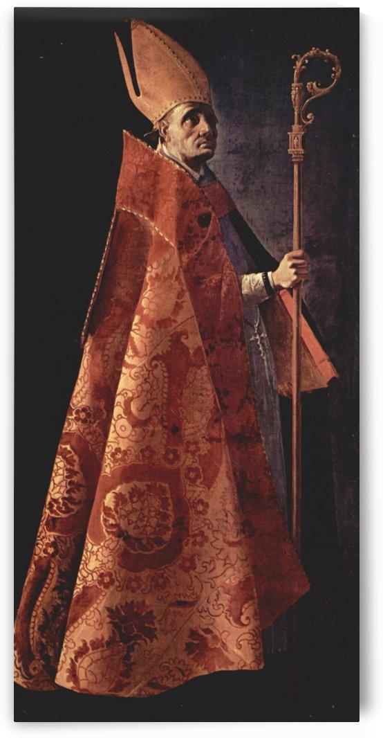 St. Ambrose by Francisco de Zurbaran