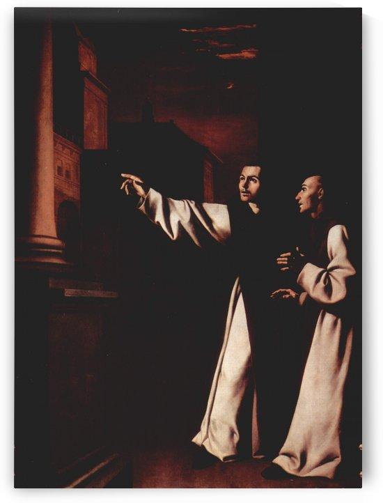 The Vision of Fray Pedro de Salamanca by Francisco de Zurbaran