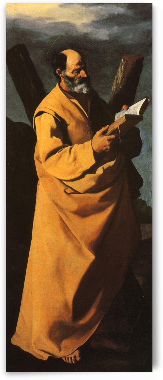 St. Andrew by Francisco de Zurbaran
